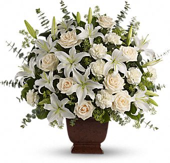 Loving Lilies and Roses Arrangement