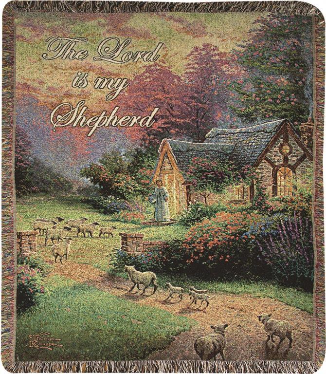 Good Shepherd's Cottage Throw