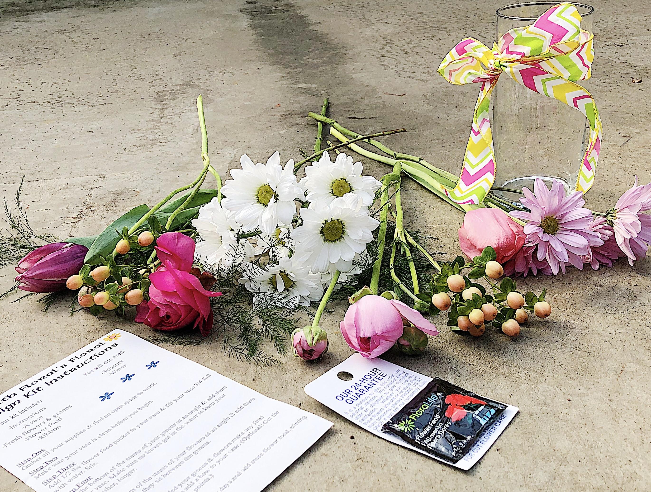 Kid-Friendly Floral Design Kit