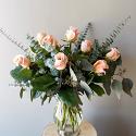 Classic Dozen Rose Vase