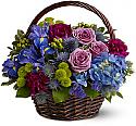 Twilight Garden Basket