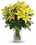 Lily Sunshine Bouquet