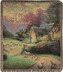 Good Shepherd's Cottage Throw