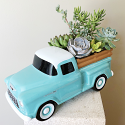 Vintage Chevy Pickup Planter